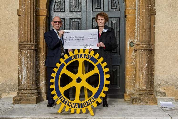rotary cheque